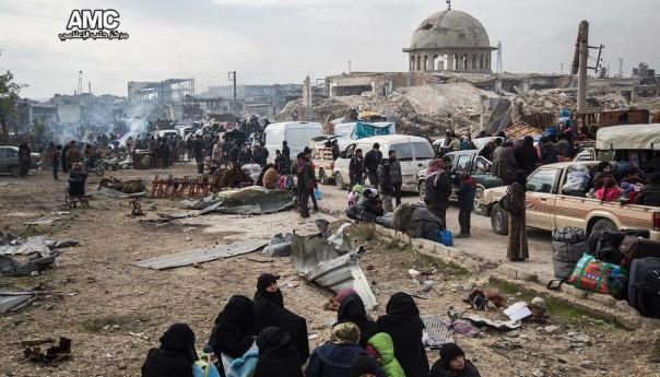 Il sangue dei Siriani ed Aleppo