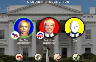 La corsa alla conquista della Casa Bianca attraverso un videogame